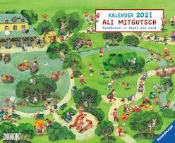 Ali Mitgutsch Kalender 2021