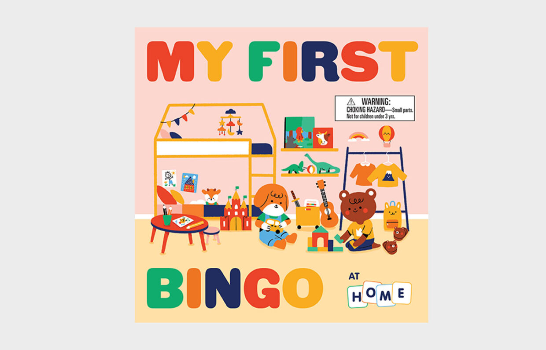 Mein erstes Bingo. Zu Hause